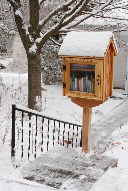 βιβλιοθήκη γραμματοκιβώτιο