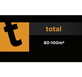 Total 80-100m²