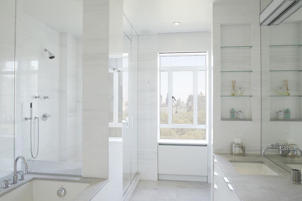 τρόποι να κάνετε οποιοδήποτε μπάνιο να φαίνεται μεγαλύτερο